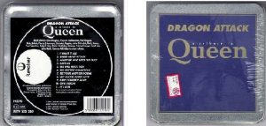 Dragon Attack A Tribute to QUEEN CD metal box.