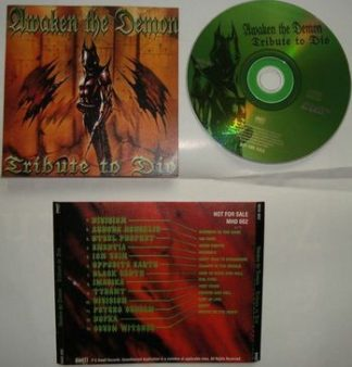 Awaken The Demon - Tribute To Dio CD. Greek PROMO (in jewel case). 13 bands.