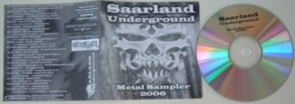 SAARLAND UNDERGROUND Metal sampler 2006 CD compilation FREE £0 for orders of £25+