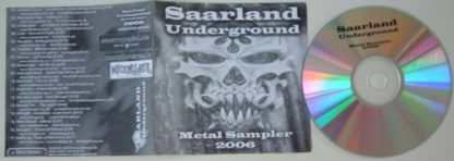 SAARLAND UNDERGROUND Metal sampler 2006 CD compilation FREE £0 for orders of £25+