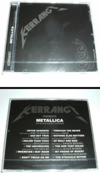 METALLICA The Black Album Covered CD 2012. s