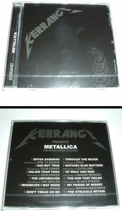 METALLICA The Black Album Covered CD 2012. s