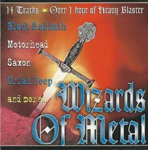 Wizards Of Metal CD s Motrhead, Girlschool, Nazareth, Black Sabbath, Uriah Heep, Saxon, Samson, Tokyo Blade, etc