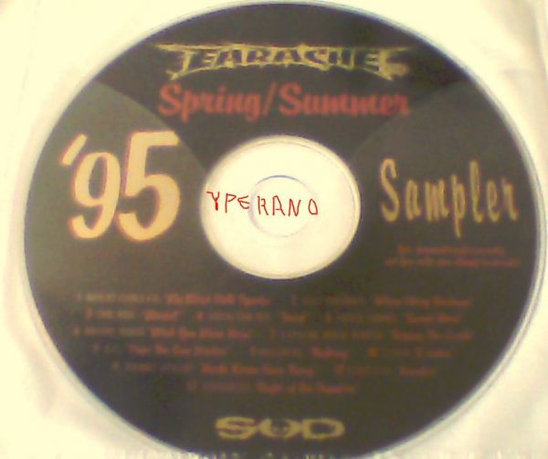 Earache Spring / Summer '95 Sampler PROMO CD + Pink Floyd cover + Roky Erickson cover!!