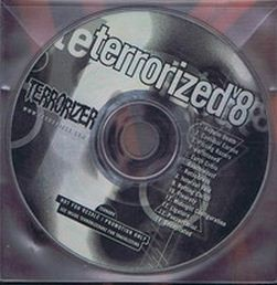 Terrorized Vol.8 CD Cannibal Corpse, Pissing Razors, Earthtone9, Rotting Christ, Fleurety, Ligature, etc. s