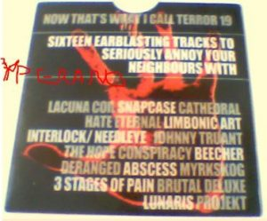 Now that's what I call Terror 19 CD (still sealed). Lacuna Coil, Snapcase, Cathedral, Johnny Truant, Abscess, etc. s