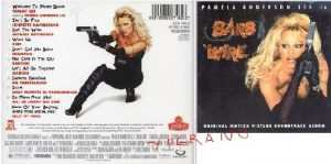 Barb Wire: Original Motion Picture Soundtrack CD Pamela Anderson+Tommy Lee, Gun, Shampoo, Salt 'N' Pepa+videos