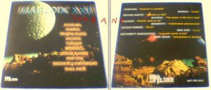 Warzone XXII PROMO CD. Praying Mantis, Dark Moor, Vicious Rumors, Avantasia, etc. s