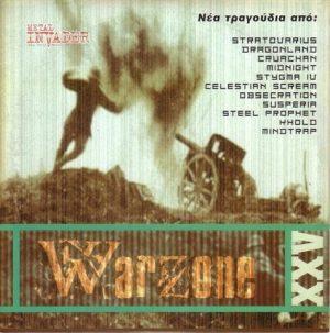 Warzone XXV PROMO CD. Stratovarius, Steel Prophet, Stigma IV, Crimson Glory etc. s