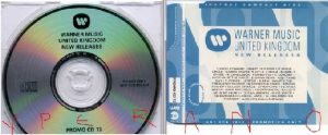 Warner Music PROMO CD 72. Inner Circle, Prince, Candlebox, etc. Check all videos