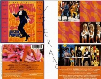 Austin Powers International Man Of Mystery - Original Soundtrack CD. + videos