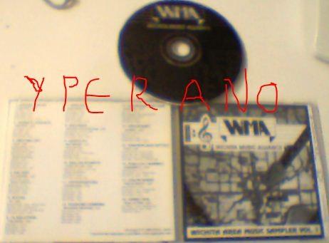 Witchita music Alliance area music sampler vol. 1 CD. Ultra RARE! Holocaust, Sabbath Knights