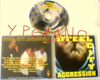 Steel City Aggression Vol. 1 CD comp / Da Core Records 1997. dc 002