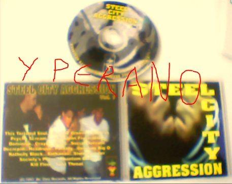 Steel City Aggression Vol. 1 CD comp / Da Core Records 1997. dc 002
