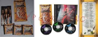 AEROSMITH: Pandora's Box. 52-track ltd. edition 3-CD box set w. unreleased tracks+64-page book. 1991 original.
