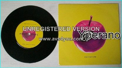 """GARP: Prototype 1994 limited edition 7"""" (2 songs). Check whole song. HIGHLY RECOMMENDED!!"""