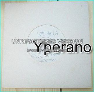 "VALHALLA: Still In Love With You 7"" + Jack. Ultra RARE N.W.O.B.H.M Test Pressing!"