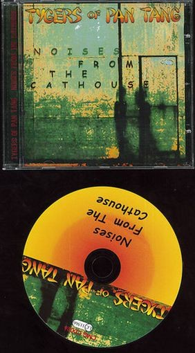 TYGERS OF PAN TANG: Noises from The Cathouse CD (Communique 2004) Like the Wild Cat album. s
