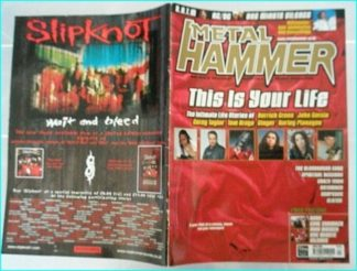 Metal Hammer April 2000 issue 73. Rage Against the Machine, One Minute Silence, Entombed, Clutch, AC/DC, Spiritual Beggars-