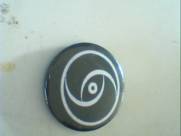 Tribal Pin Button. Free for orders of £15+