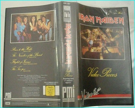 Iron Maiden: Video Pieces VHS