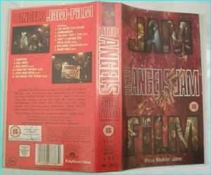 Little Angels: Jam Film SIGNED, Autographed by all band members VHS. 1 hr. 45 min!