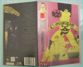 The Black Crowes: Who killed that bird out on your window VHS. Classic rockumentary & 18 great songs