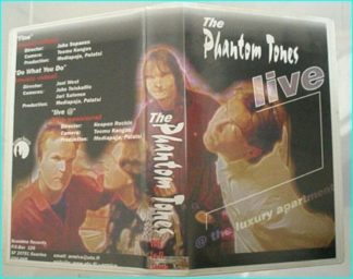 The Phantom Tones: live VHS. ULTRA RARE!! Finnish Rock Hard Rock with elements of Punky attitude. Finland Suomi rules