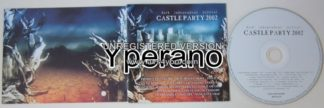 CASTLE PARTY 2002 compilation CD. 16 bands + huge booklet. EBM, Industrial, Goth Rock. Check video!