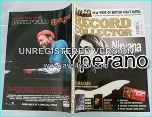 Record Collector APRIL 2004. 296. NIRVANA cover Kurt Cobain. The Records, Rarities, & Legend. New Wave of British Heavy Metal