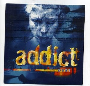 "ADDICT: Dust 7"" Brit Pop, Indie Rock. Ex- Bus. Check audio"
