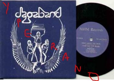 "DAGABAND: Second Time Around 7"" single 1982. Prog mixed with N.W.O.B.H.M. 3 songs (1 The Who cover).Check audio samples"