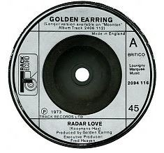"GOLDEN EARRING: Radar Love 7"" Free for 7"" orders of £27+"
