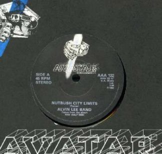 """The ALVIN LEE: Band Nutbush city Limits 7"""". Great cover version."""