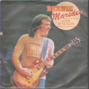 "BERNIE MARSDEN: Look at me Now 7"". Whitesnake, UFO, Alaska guitarist."