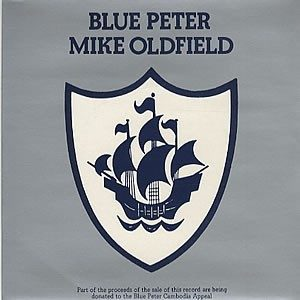 """Mike OLDFIELD: Blue Peter 7"""" Great B side (Space Rock). s"""