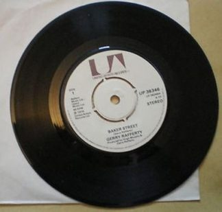 """Gerry RAFFERTY: Baker Street 7"""" Free for vinyl orders of £24+ NAZARETH singer. The sexiest song w. lovely sax!"""
