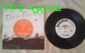 "TORA TORA: Red sun setting 7"" Original 1980 N.W.O.B.H.M. Simon Wright's (AC/DC drummer) 1st release. Check both audio samples"