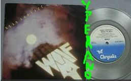 "WOLF: Head Contact 7"" Rare UK Original Clear Vinyl. NWOBHM 1982. (ex Black Axe) s"