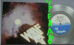 "WOLF: Head Contact 7"" Rare UK Original Clear Vinyl. NWOBHM 1982. (ex Black Axe) s"