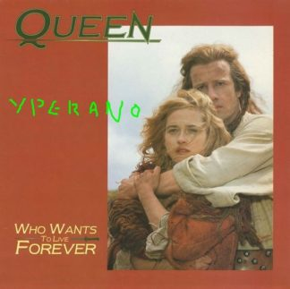 """QUEEN: Who Wants to Live Forever 12"""" UK. Highlander sleeve + theme song. Check videos. 4 songs (+ Piano Version)."""