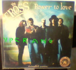 "The CROSS: Power to Love 12"" Signed Autographed by Roger Taylor (from Queen)"