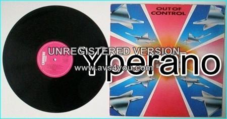 RAGE: Out of Control LP. Top N.W.O.B.H.M 1981. Highly recommended. Check samples