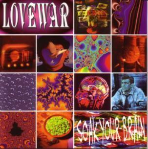 LOVEWAR: Soak your brain CD [Melodic Hard Rock, Folk A.O.R. Rare Christian album King's X] !