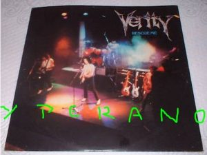 "VERITY: Rescue Me 12"" + 2 extra songs. John Verity on vocals ex Argent and Phoenix singer. Hard Rock anthem! ."
