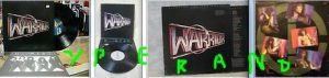 WARRIOR (USA): Fighting For The Earth LP with inner sleeve. 1985 + video. Highly recommended