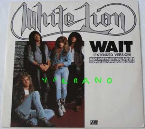"WHITE LION Wait 12"" (Extended Version) + 2. Check videos!!"