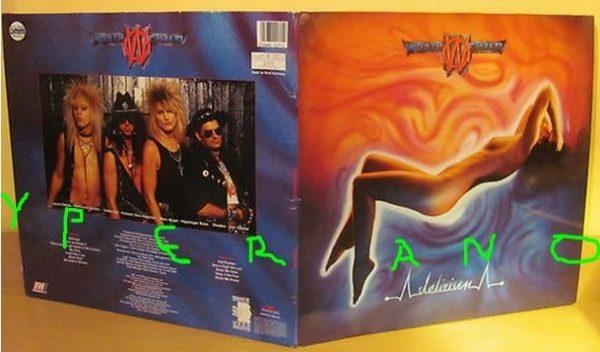 WRATHCHILD: Delirium LP 1984 Gatefold sleeve. Great Glam Hard Rock.