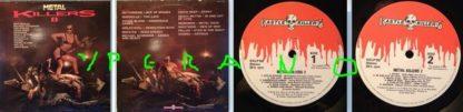 Metal Killers II LP 1984. Motorhead, Manowar, Girlschool, Uriah Heep, Heavy Pettin- s