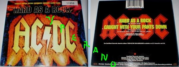 Acdc Hard As A Rock Cd Digipak Still Factory Sealed Limited Edition Numbered Souvenir Cards Check Video Yperano Records